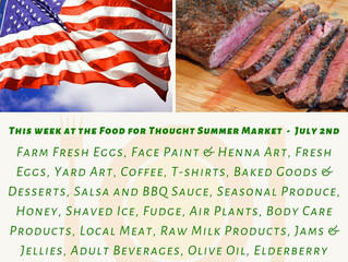 Summer Market 7/2