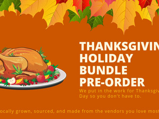 Thanksgiving Holiday Bundle Pre-order