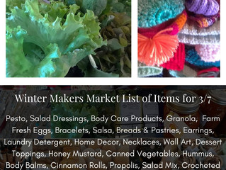 Winter Makers Market 3/07