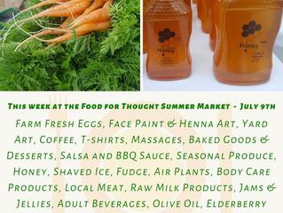Summer Market 7/9