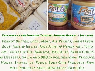 Summer Market 7/16