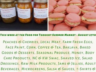 Summer Market 8/27