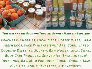 Summer Market 9/3