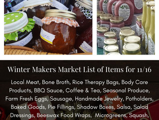 Winter Makers Market 11/16