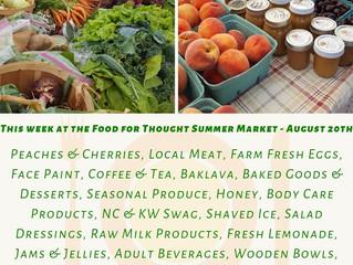 Summer Market 8/20