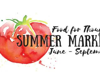 Summer Market Vendor Application NOW LIVE