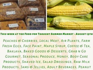 Summer Market 8/13