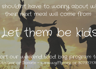 Support our Weekend Food Bag Program