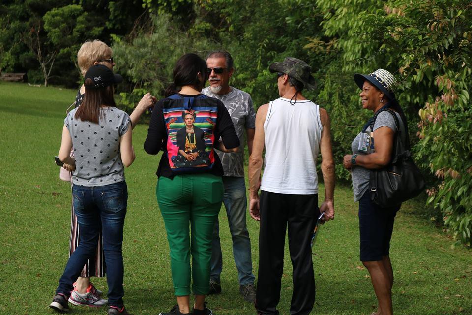 Visita guiada ao Jardim Botânico