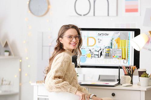 """Curso Online """"Introdução ao Design de Interiores"""""""