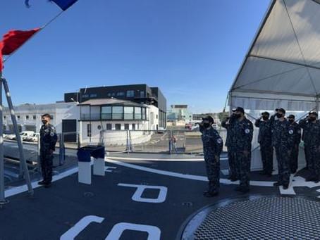 Fue entregado el OPV ARA Almirante Storni
