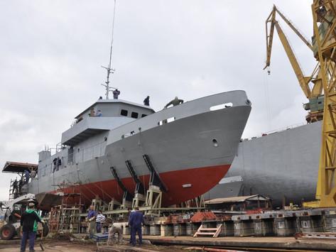 El Astillero Rio Santiago bota la primer LICA