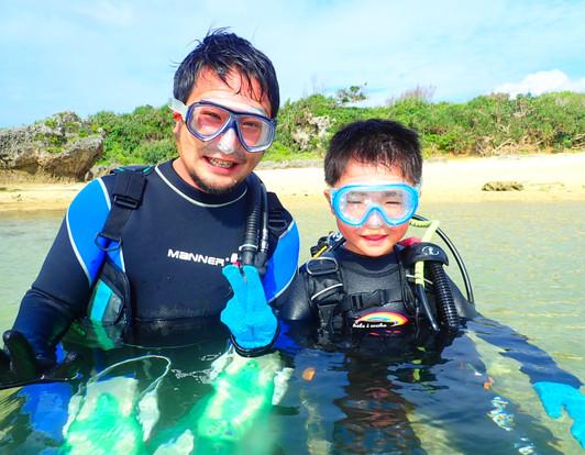 親子で体験ダイビング,初ダイビング
