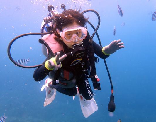 8歳沖縄ダイビング,小学生から参加可能