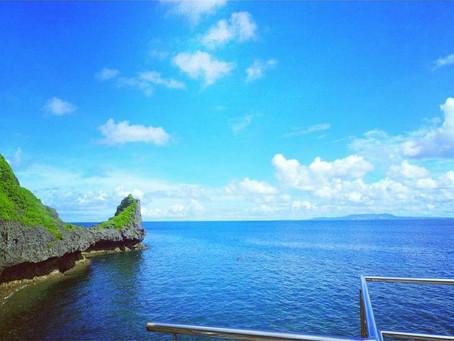 夏休み 賑やかわいわい 真栄田岬