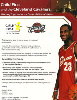 Lebron James and Child First Partner