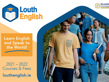 New Louth English Brochure Available for 2021-2022