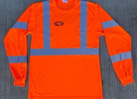 Men's Long Sleeve Reflective Shirt