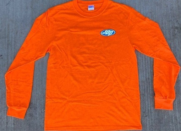 Men's Cotton Orange Long Sleeve