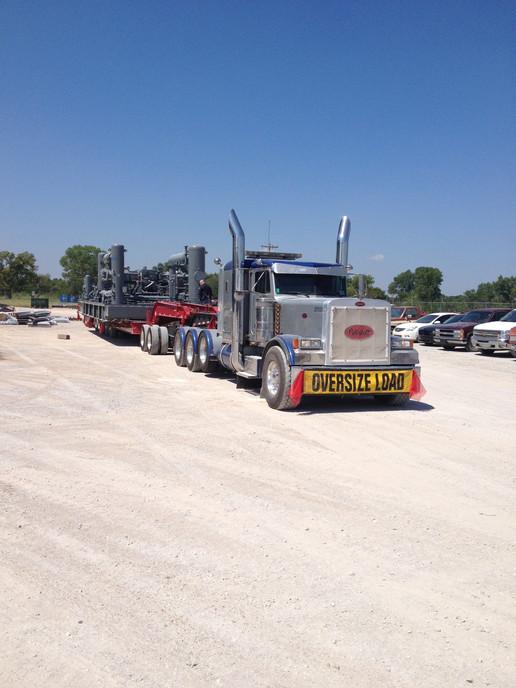 140,000# Compressor Oklahoma City to Pennsylvania