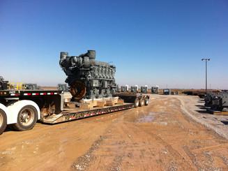 50,000# Compressor Engine Oklahoma City to West Virginia
