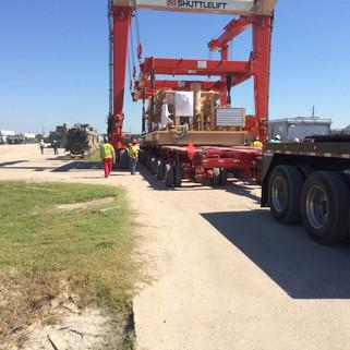 289,000# Compressors from Houston to Williston, North Dakota