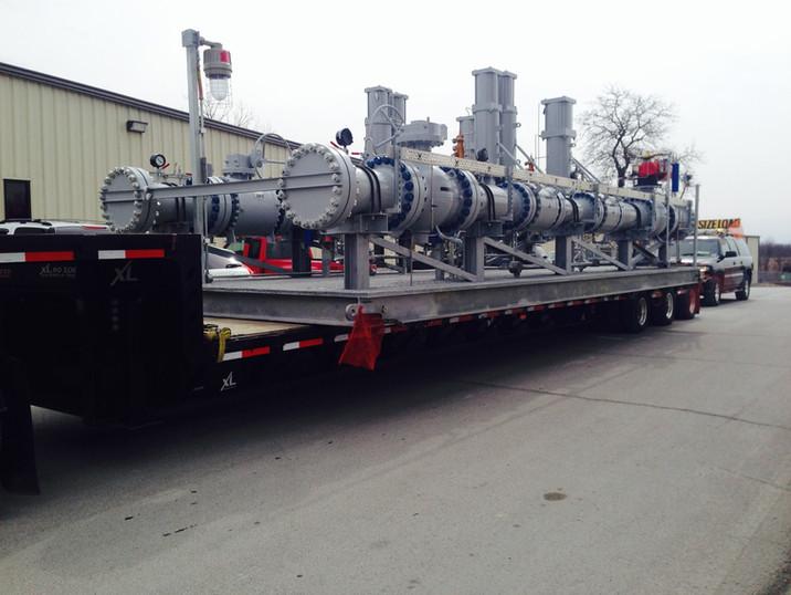 50,000# Skid Tulsa to West Virginia