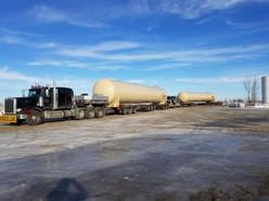 170,000# Surge Tanks Longview Texas to Orla, Texas