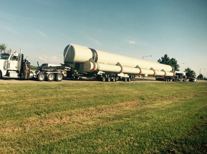 226,000# Laminar Tank - Little Rock, Arkansas to Ocosceola, Arkansas