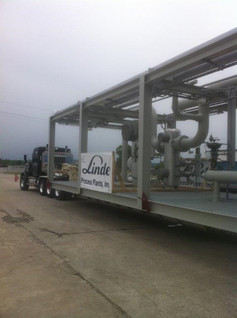 123,000# Process Module Tulsa, Oklahoma to Watford City, North Dakota.