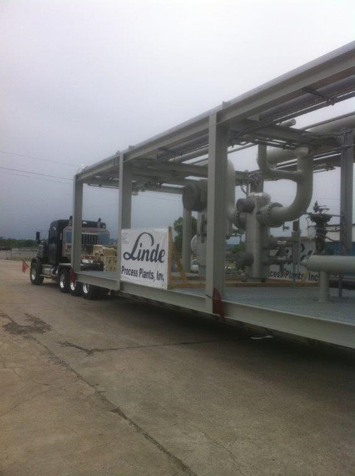 123,000# Process Module Tulsa, Oklahoma to Watford City, North Dakota.