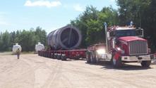 269,000#  Dehydrator from Cambridge, Minnesota to Columet, Oklahoma