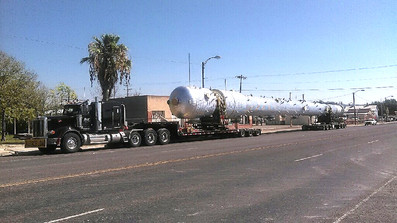 195,000# Tower from Houston to Malaga, New Mexico.