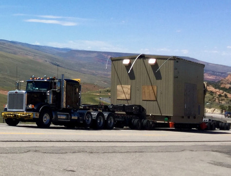 109,000# Compressors from Houston to Pinedale, Wyoming.