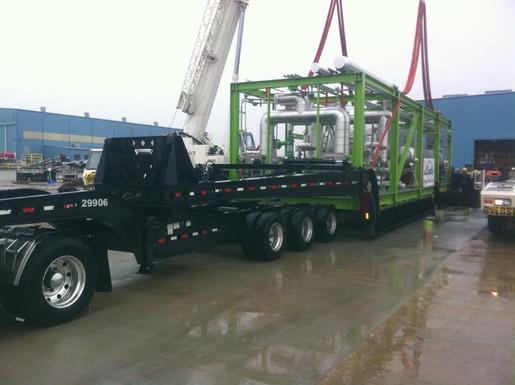 145,000# Process Module Tulsa, Oklahoma to Watford City, North Dakota