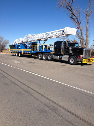 75,000 Trailer Mounted Drilling Rig Oklahoma to California