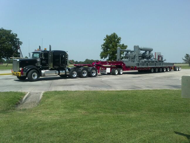 130,000# Compressor Texas to Pennsylvania