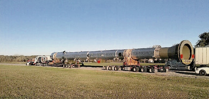 165,000# Tower from Houston to Malaga, New Mexico.