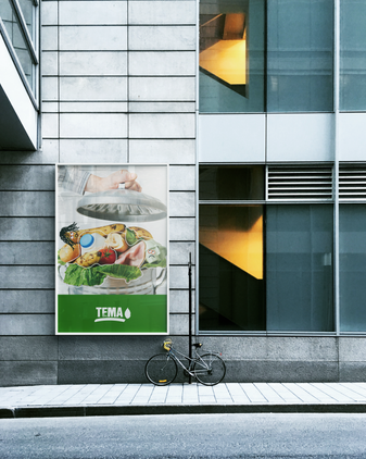 Tema Vakfı - Tüketim Çılgınlığı Poster Tasarım