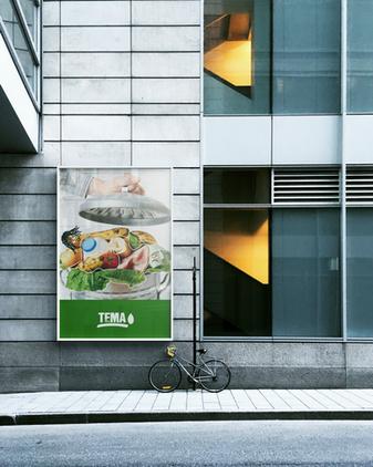 Tema Foundation - Consumption Frenzy Poster Design