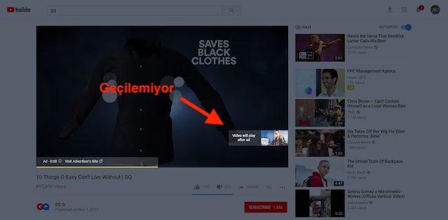 YouTube Atlanamayan Video Reklamlar – YouTube Non-Skippable Video Ads