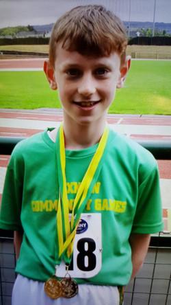Steve who won the U.10 100m Sprint