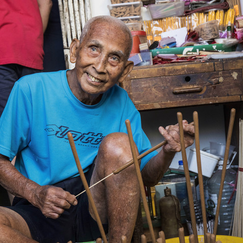 Joss Stick Maker - Penang