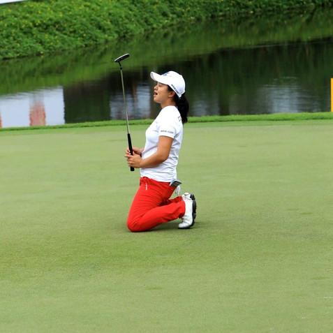 LPGA Missing a shot