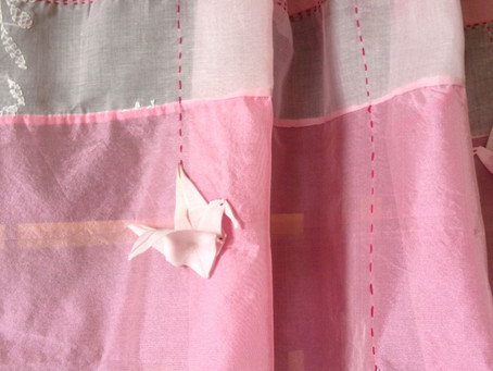 Chikankari Pink Cotton