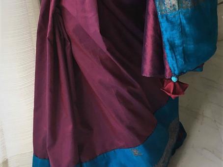 Benarasi Turquoise Silk