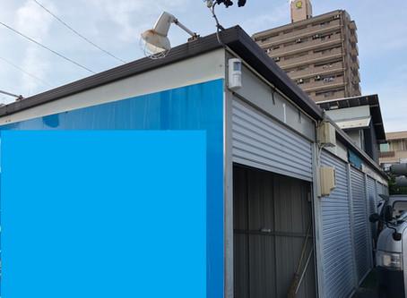 Fさん、貸ガレージにセキュリティ・カメラ工事(名古屋市南区)