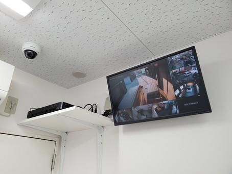 防犯・監視カメラ設置(名古屋市北区Sモータース)