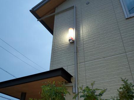 ホームセキュリティと防犯カメラ(大垣市N邸)