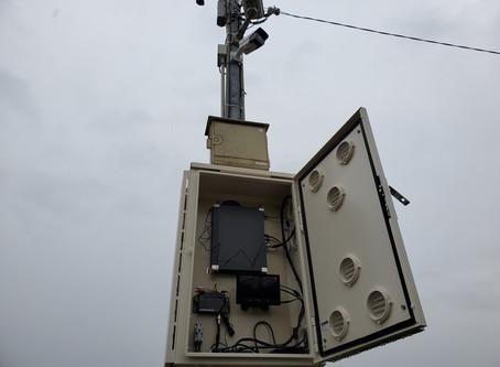 電灯しかない駐車場にカメラ設置できますか?(東海市K運送)